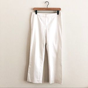 LAFAYETTE 148 NY • white trousers